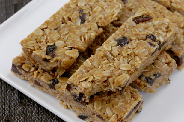 3-Ingredient Granola Bars